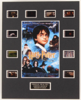 """Harry Potter and the Philosopher's Stone"" LE 8x10 Custom Matted Original Film / Movie Cell Display at PristineAuction.com"