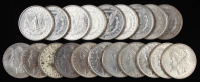 Lot of (20) Morgan Silver Dollars at PristineAuction.com