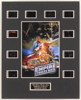 """""""The Empire Strikes Back"""" LE 8x10 Custom Matted Original Film / Movie Cell Display at PristineAuction.com"""
