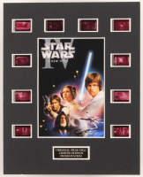"""""""Star Wars: Episode IV - A New Hope"""" LE 8x10 Custom Matted Original Film / Movie Cell Display at PristineAuction.com"""