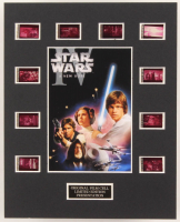 """Star Wars: Episode IV - A New Hope"" LE 8x10 Custom Matted Original Film / Movie Cell Display at PristineAuction.com"