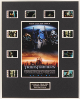 """""""Transformers"""" LE 8x10 Custom Matted Original Film / Movie Cell Display at PristineAuction.com"""