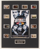"""""""2 Fast 2 Furious"""" LE 8x10 Custom Matted Original Film / Movie Cell Display at PristineAuction.com"""