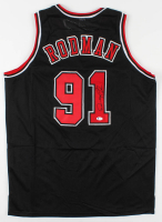 Dennis Rodman Signed Jersey (Beckett Hologram) at PristineAuction.com