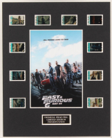 """""""Fast & Furious 6"""" LE 8x10 Custom Matted Original Film / Movie Cell Display at PristineAuction.com"""
