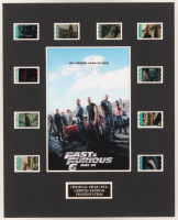 """Fast & Furious 6"" LE 8x10 Custom Matted Original Film / Movie Cell Display at PristineAuction.com"