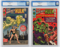 "Lot of (2) CGC Graded ""Tales To Astonish"" Marvel Comic Books with 1966 Hulk #79 (CGC 5.0) & 1966 Hulk #78 (CGC 6.0) at PristineAuction.com"