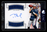 Tom Brady 2018 Panini National Treasures Personalized Treasures Signatures #10 at PristineAuction.com