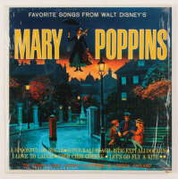 "Vintage 1965 Walt Disney's ""Mary Poppins: Favorite Songs"" LP Vinyl Record Album at PristineAuction.com"