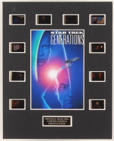 """Star Trek Generations"" LE 8x10 Custom Matted Original Film / Movie Cell Display at PristineAuction.com"