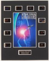 """Star Trek Generations"" LE 8x10 Custom Matted Original Film / Movie Cell Display at PristineAuction.com"