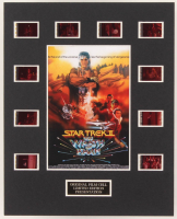 """""""Star Trek II: The Wrath of Khan"""" LE 8x10 Custom Matted Original Film / Movie Cell Display at PristineAuction.com"""