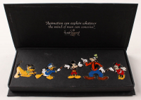 Walt Disney Animation Mickey Mouse Pin Set With Case at PristineAuction.com