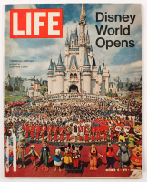 "Vintage 1971 ""Disney World Opens"" Life Magazine at PristineAuction.com"