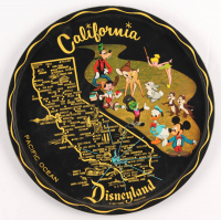 Vintage Disneyland Plate at PristineAuction.com