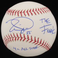 Tim Lincecum Signed OML Baseball with Multiple Inscriptions (JSA Hologram) at PristineAuction.com