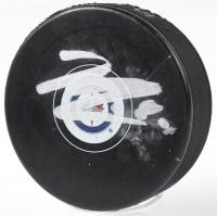 Kyle Connor Signed Jets Logo Hockey Puck (JSA COA) at PristineAuction.com