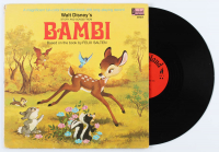 "Vintage 1969 Walt Disney's ""Bambi"" Vinyl LP Record Album at PristineAuction.com"