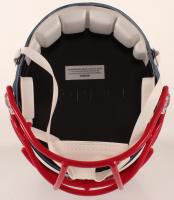 Jarrett Stidham Signed Patriots Full-Size AMP Alternate Speed Helmet (JSA COA) at PristineAuction.com