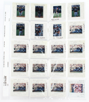 Lot of (34) 1998-99 Jim Thome Pacific Baseball Card Negatives at PristineAuction.com