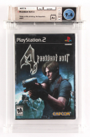 """2007 """"Resident Evil 4"""" Playstation 2 Video Game (WATA 9.6) at PristineAuction.com"""