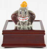 "Vintage 1970 Disney ""Dumbo"" Ceramic Figurine with High Quality Display Stand at PristineAuction.com"