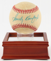 Sandy Koufax Signed ONL Baseball with Display Stand (PSA LOA) at PristineAuction.com