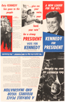 """Original John F. Kennedy """"Kennedy For President"""" Pamphlet at PristineAuction.com"""