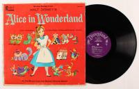 """1959 Walt Disney's """"Alice in Wonderland"""" Vinyl Record LP Album at PristineAuction.com"""