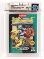 """1993 """"Street Fighter II: Special Champion Editiion"""" Sega Gensis Video Game (WATA 9.4) at PristineAuction.com"""