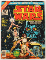 "1977 ""Star Wars"" Vol. 1 Issue #1 Special Edition Marvel Comic Book at PristineAuction.com"