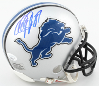 Calvin Johnson Signed Lions Mini-Helmet (JSA COA) at PristineAuction.com