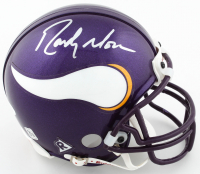 Randy Moss Signed Vikings Mini-Helmet (JSA COA) at PristineAuction.com