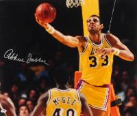 Kareem Abdul-Jabbar Signed Lakers 16x23 Photo (PSA COA) at PristineAuction.com