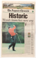 Original April 14th, 1997 The Augusta Chronicle Newspaper at PristineAuction.com