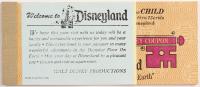 Vintage Disneyland Coupon Book at PristineAuction.com