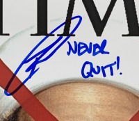 "Robert J. O'Neill Signed 11x14 Photo Inscribed ""Never Quit!"" (JSA COA) at PristineAuction.com"