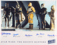 """Star Wars: Episode V – The Empire Strikes Back"" 16x20 Photo Signed by (5) with Bill Hargreaves, Jeremy Bulloch, Alan Harris, Chris Parsons, & Catherine Munroe (Beckett LOA) at PristineAuction.com"