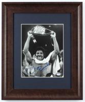 Leon Spinks Signed 14.25x17.25 Custom Framed Photo Display (PSA COA) at PristineAuction.com