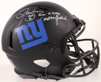 "Lawrence Taylor Signed Giants Full-Size Eclipse Alternate Authentic On-Field Speed Helmet Inscribed ""HOF 99"" & ""I'm A Bad Mother******"" (Beckett COA) at PristineAuction.com"