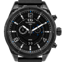 Ulysse Girrard Bombardier Mens Chronograph Watch at PristineAuction.com