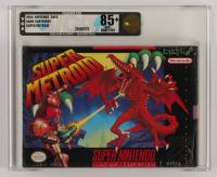 "1994 ""Super Metroid"" Nintendo SNES Video Game (VGA 85) at PristineAuction.com"