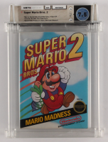 "1988 ""Super Mario Bros. 2"" Nintendo NES Video Game (WATA 7.5) at PristineAuction.com"