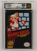 "1988 ""Super Mario Bros."" Nintendo NES Video Game (VGA 85) at PristineAuction.com"