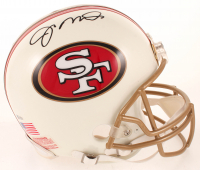 Joe Montana Signed 49ers Full-Size Authentic On-Field Helmet (Beckett COA) at PristineAuction.com
