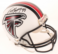 Tony Gonzalez Signed Falcons Full-Size Authentic On-Field Helmet (JSA COA) at PristineAuction.com