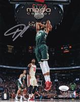 Giannis Antetokounmpo Signed Bucks 8x10 Photo (JSA COA) at PristineAuction.com