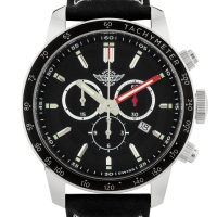 Zentler Freres Oracle Men's Swiss Chronograph Watch at PristineAuction.com
