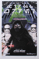 "Tom Hodges - Kylo Ren - Star Wars: Galaxy's Edge - Signed 11"" x 17"" Lithograph LE #/40 (PA COA) at PristineAuction.com"