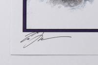 "Tom Hodges - The Mandalorian & The Child - Signed 11"" x 17"" Lithograph LE #/25 (PA COA) at PristineAuction.com"
